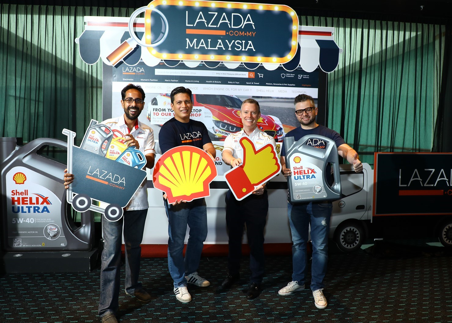 Shell Malaysia Launches First Official Shell Online Store in Malaysia on Lazada