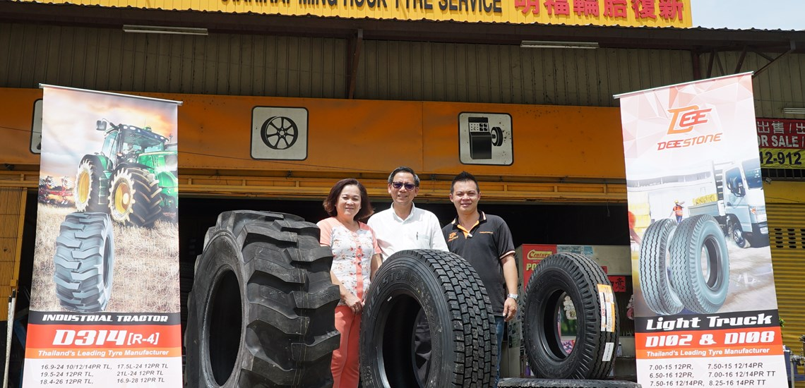 Cooperteams Distribution & Deestone Tyres