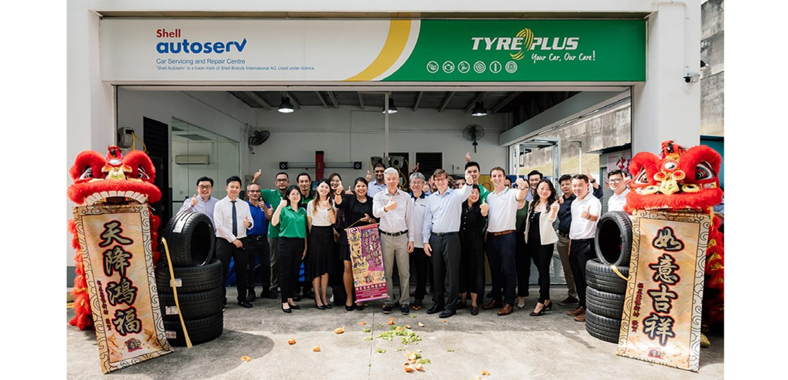 Tyreplus , Shell Autoserv and HT Group