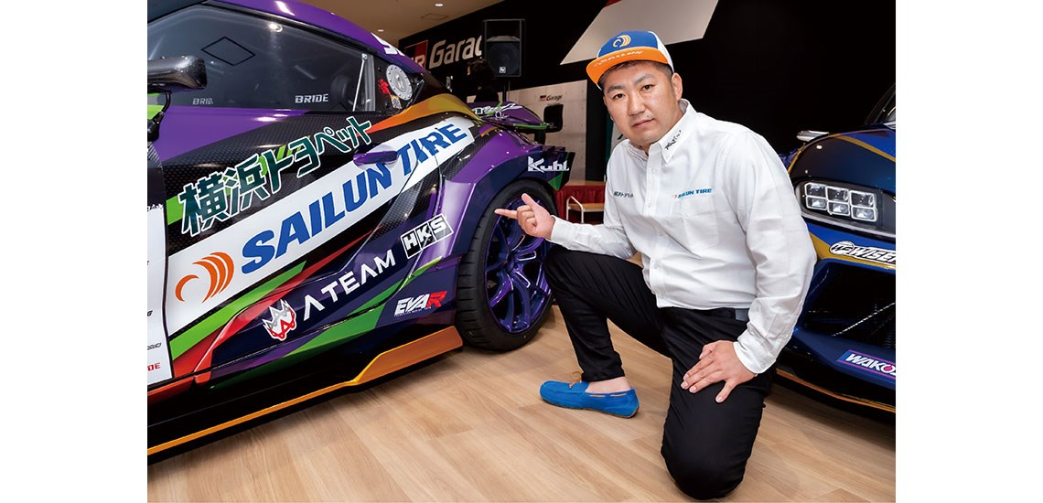 Sailun-and-EVA-Unveil-2021-D1GP-Car